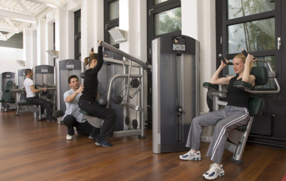 corporate gym design and office gym fit out