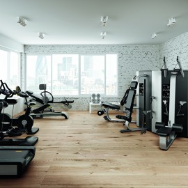 Corporate Gym Design