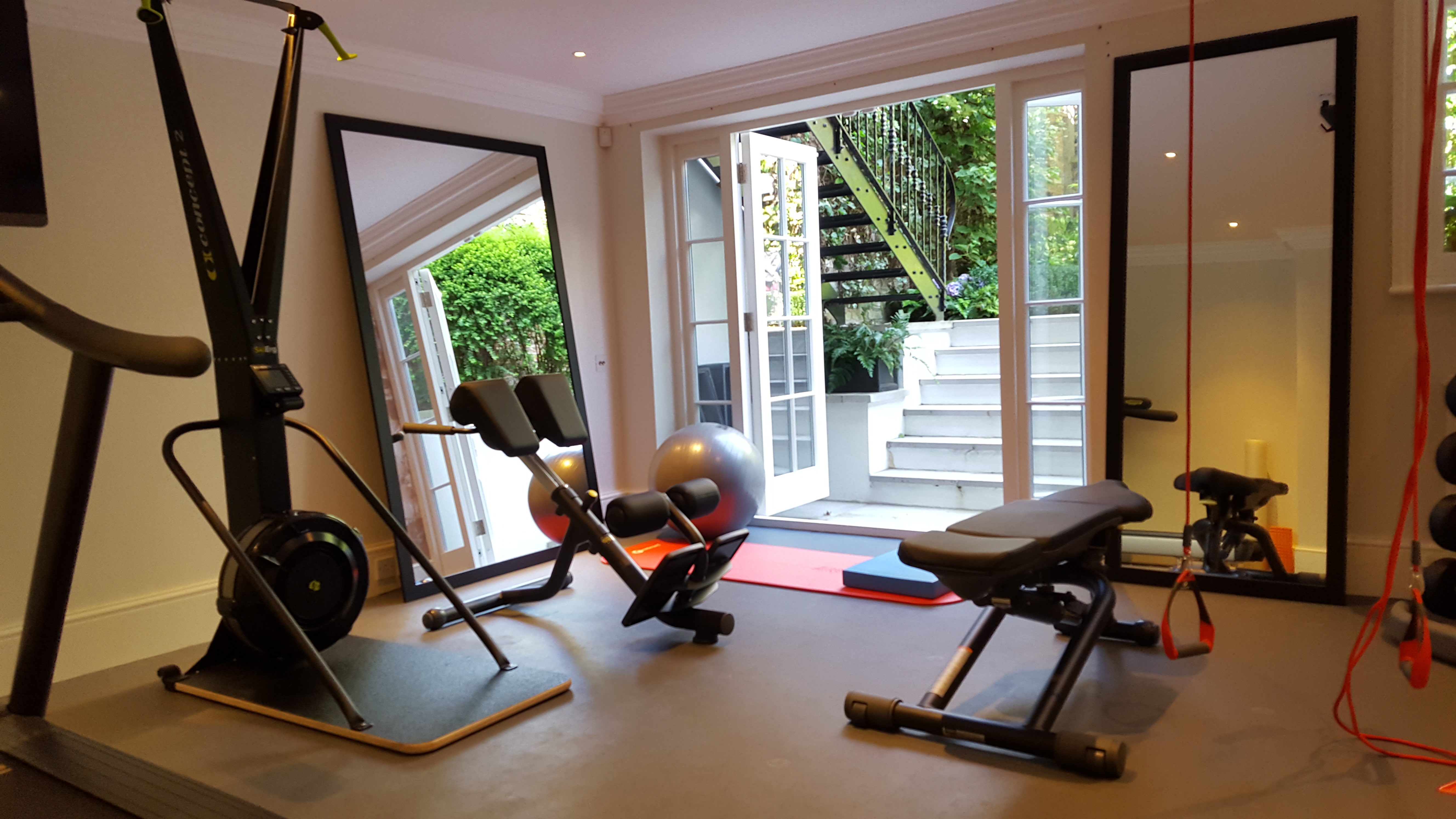 Home gym design luxury gyms by morpheus