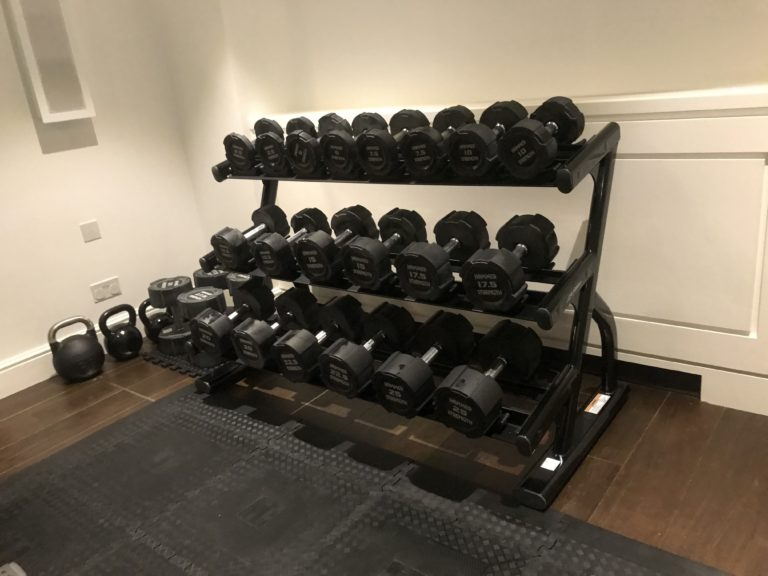 HOME GYM FIT OUT IN KNIGHTSBRIDGE