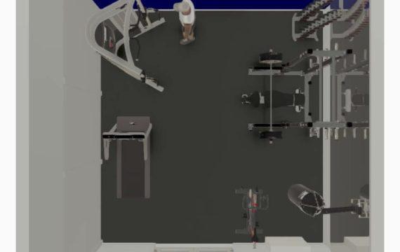 gym design layout